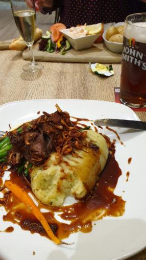Dinner at Kingsknowles Hotel