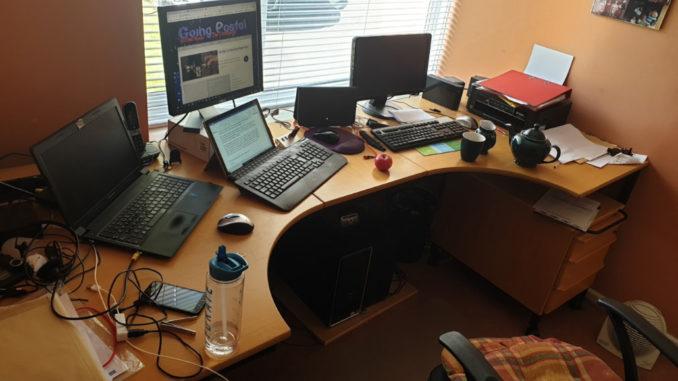 Option 1 - a desk