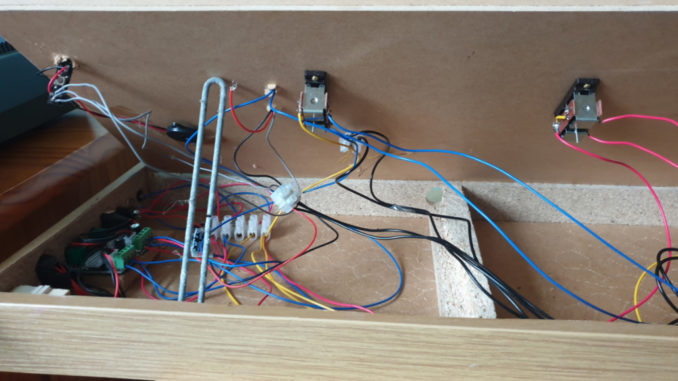Spaghetti wiring