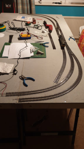 First track setup