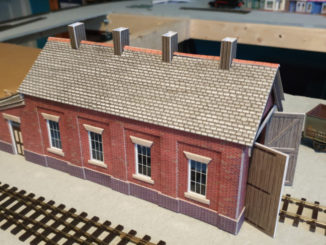 Finished engine shed