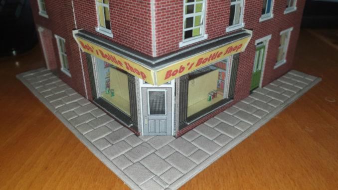 Bob's final shop.