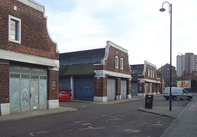 The run-down Sneinton Market, 2008