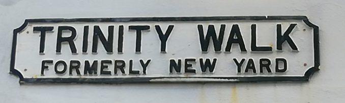 Trinity Walk, Nottingham (formerly 'New Yard')