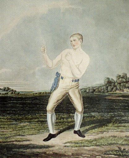 The legendary Nottingham prize fighter, Bendigo